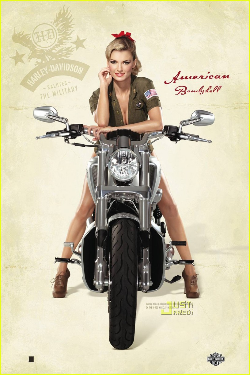 Harley-Davidson Recruits Supermodel Marisa Miller to ...