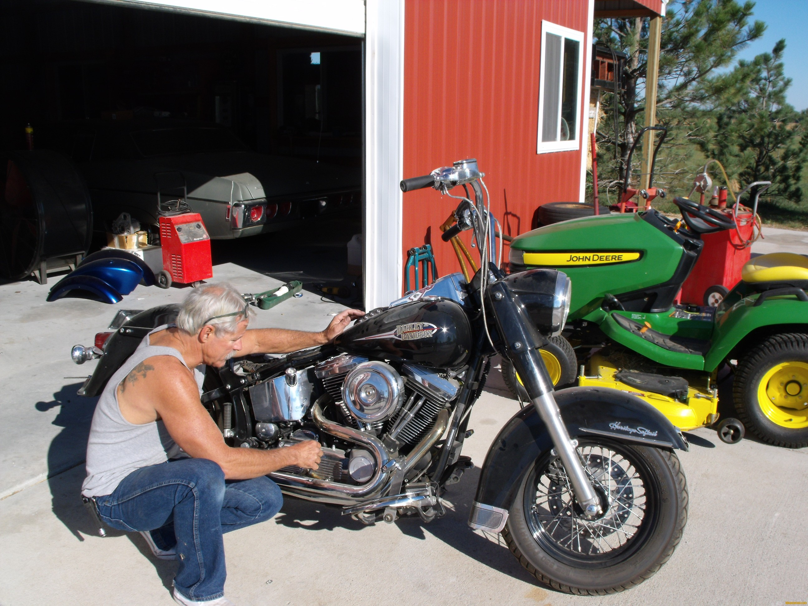 Harley evo vs twin cams the sweet years todds harley pix only a bad charging systemcheap and easy to replace it was unbelievable and truly miraculous fandeluxe Image collections