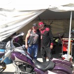 Coach and Kevin Bean're in Sturgis