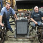 25 Ralph & Evan. Rat rod